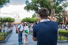 Shanghai Disneyland i Shanghai, Kina royaltyfri bild