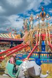 Shanghai Disneyland i Shanghai, Kina royaltyfria foton