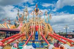 Shanghai Disneyland i Shanghai, Kina fotografering för bildbyråer