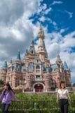 Shanghai Disneyland i Kina royaltyfri bild