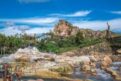 Shanghai Disneyland i Shanghai, Kina royaltyfri foto