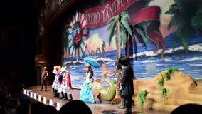 Shanghai Disneyland i Kina stock video