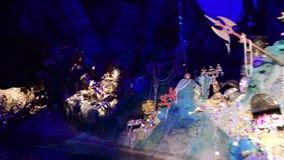 Shanghai Disneyland i Kina lager videofilmer
