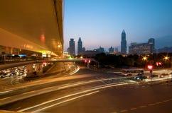 Shanghai Downtown Stock Photo