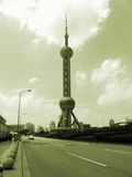 Shanghai downtown Stock Photography