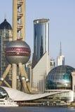 Shanghai downtown Royalty Free Stock Photos