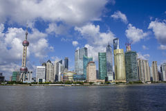 Shanghai downtown Royalty Free Stock Photography