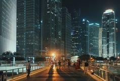 Shanghai, downtown China Stock Photos