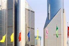 shanghai drapacze chmur Fotografia Royalty Free