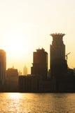 Shanghai dusk Stock Image