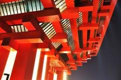 Shanghai Expo China van 2010 Paviljoen Stock Afbeeldingen