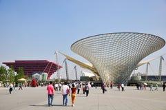 Shanghai Expo China van 2010 Paviljoen Royalty-vrije Stock Afbeeldingen