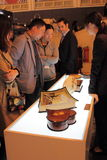 Shanghai Expo exhibition REUGE luxury living music box. Stock Photography