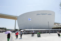 2010 Shanghai Expo Finland Pavilion Stock Photography