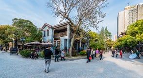 Shanghai för Duolun vägHongkou område porslin Fotografering för Bildbyråer
