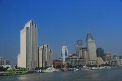 ŒShanghai för Shanghai landmarkï¼ Bund Royaltyfria Foton