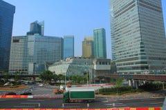 ŒShanghai för Shanghai landmarkï¼ Bund Fotografering för Bildbyråer