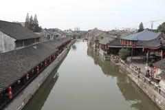 Shanghai Fengjing Town  at autumn Royalty Free Stock Photos