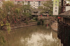 Shanghai Fengjing Town  at autumn Royalty Free Stock Photos