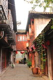 Shanghai Fengjing Town  at autumn Royalty Free Stock Photo