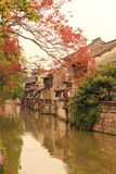 Shanghai Fengjing Town  at autumn Stock Photography