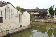 Shanghai Fengjing Town  at autumn Stock Photo