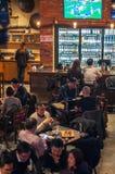Shanghai filial av världen av öl Arkivfoton