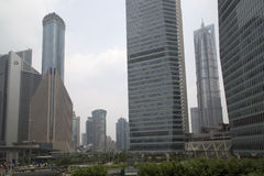 Shanghai Financial Center Royalty Free Stock Images