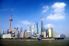 Shanghai-Finanzzentrum Lizenzfreie Stockbilder