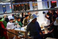 Shanghai food stall Stock Photography