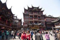 Shanghai gammal stad Arkivbild