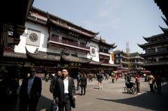 Shanghai gammal stad Royaltyfria Bilder