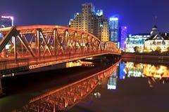 Shanghai garden bridge Royalty Free Stock Photos