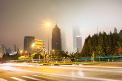 Shanghai-Gebäude stockfotografie