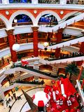 Shanghai global port shopping mall Royalty Free Stock Photo