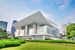 Shanghai grand theatre royalty free stock photography