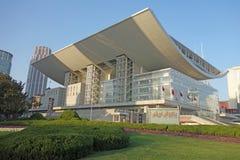 Shanghai Grand Theatre Stock Photography
