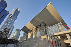 Shanghai Grand Theatre Stock Photos