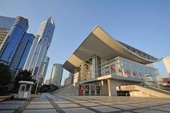 Shanghai Grand Theatre Stock Images