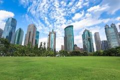 Shanghai greenbelt park Royalty Free Stock Photos