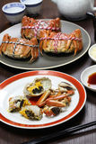 Shanghai hairy crabs, chinese cuisine Royalty Free Stock Image