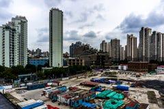 Shanghai Highrise Apartment Building 21 stock photo