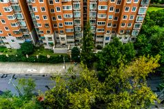 Shanghai Highrise Apartment Building 2 stock images