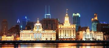 Shanghai historic architecture Royalty Free Stock Image