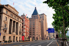 Shanghai historic architecture Royalty Free Stock Photo