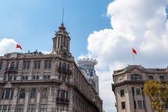 Shanghai historic buildings Royalty Free Stock Photos