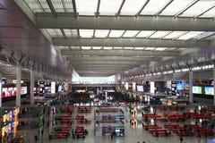 Shanghai Hongqiao Railway Station Stock Photo