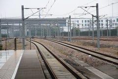 Shanghai Hongqiao Railway Station Royalty Free Stock Photo
