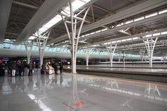 Shanghai Hongqiao Railway Station Royalty Free Stock Photography