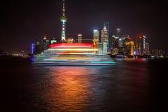 shanghai horisont Royaltyfria Foton